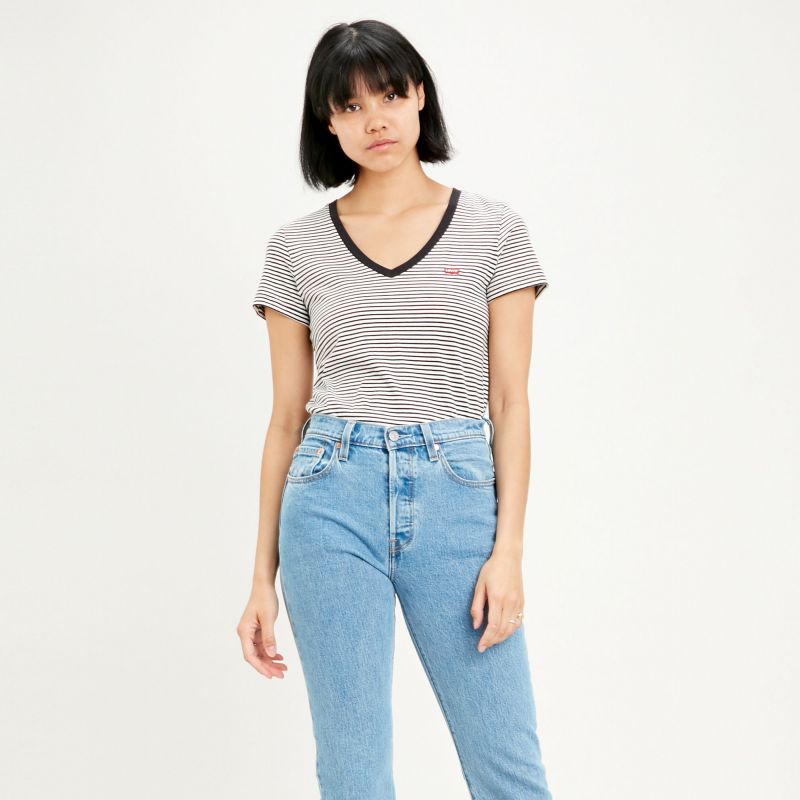 Levis Perfect V-Neck Tee Shirt