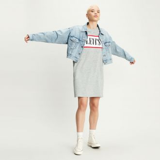 Levis Logo Tee Shirt Dress