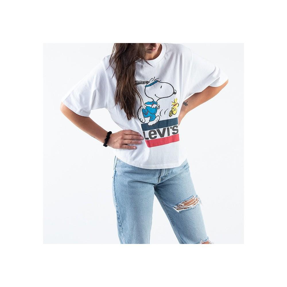 Leviś dámské triko Snoopy Torch Runner 85634-0040