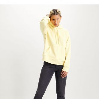 GRAPHIC SPORT HOODIE - HOODIE BATWING OUTLINE LEMON MERINGUE