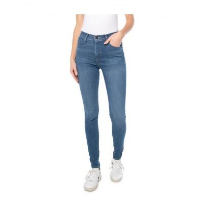 Levi´s® dámské jeans 720 HIRISE SUPER SKINNY - ECLIPSE CRAZE 52797-0193