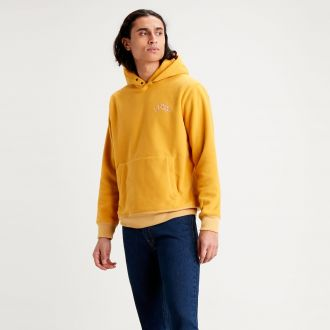 POLAR FLEECE HOODIE - GOLDEN YELLOW