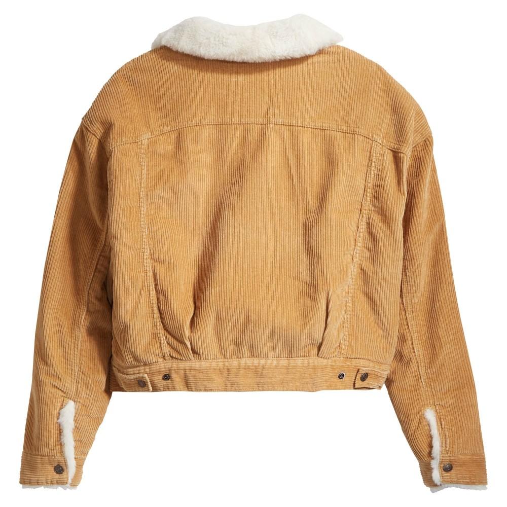 Levi´s dámská bunda s kožíškem - ICED COFFEE WARM 10 22788-0000