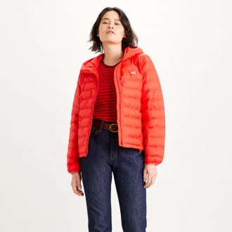 PANDORA PACKABLE JACKET - POPPY RED