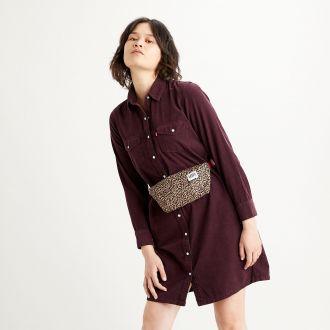 SELMA DRESS - GD MALBEC CORD