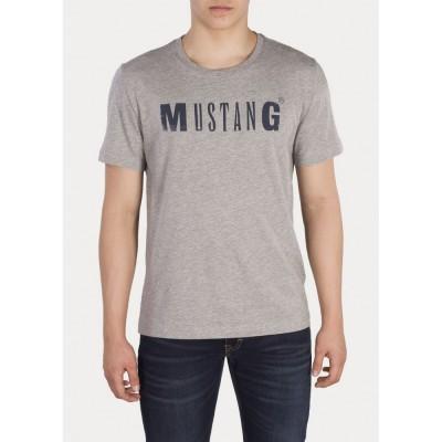 MUSTANG pánské triko Logo Tee 1005454-4140