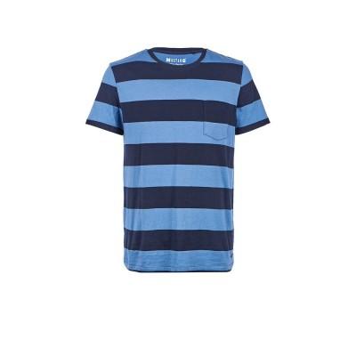 MUSTANG pánské triko Striped Tee 1005975-11034