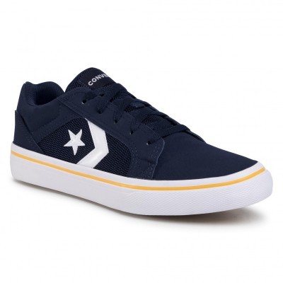 Converse pánská obuv El Distrito 2.0 Ox 167123C Obsidian/White/Marillo