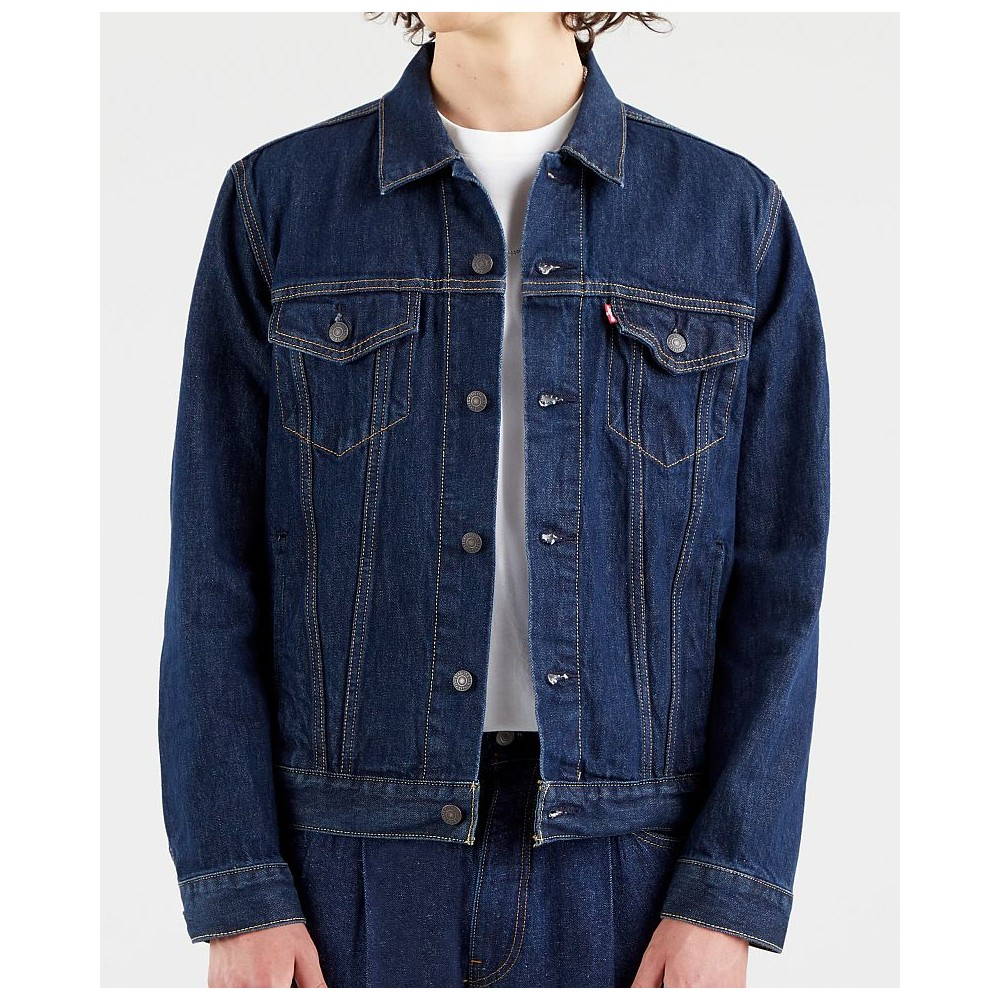 Levi´s® pánská jeans bunda 72334-0557 The Trucker Jacket - Rockridge