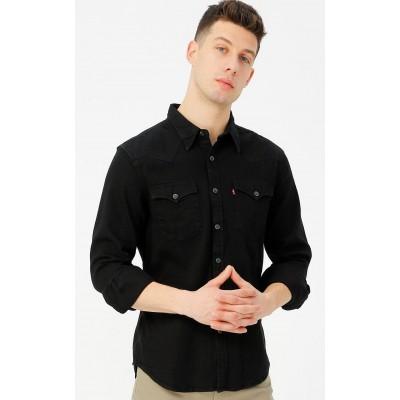 Levi´s® pánská jeans košile Barstow Western Standard 85744-0002 - Marble Black Denim Rinse 1
