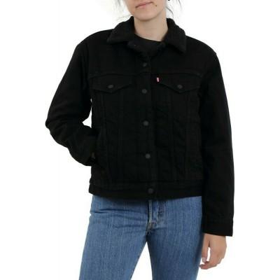 Levi´s dámská jeans bunda s kožíškem 36137-0015 Ex Boyfriend Sherpa Trucker
