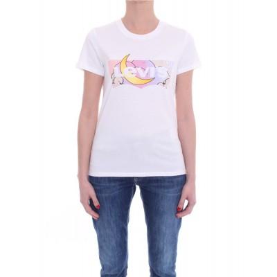 Levi´s® dámské triko Perfect Tee - Batwing Dreamy Fill White+ 17369-1251