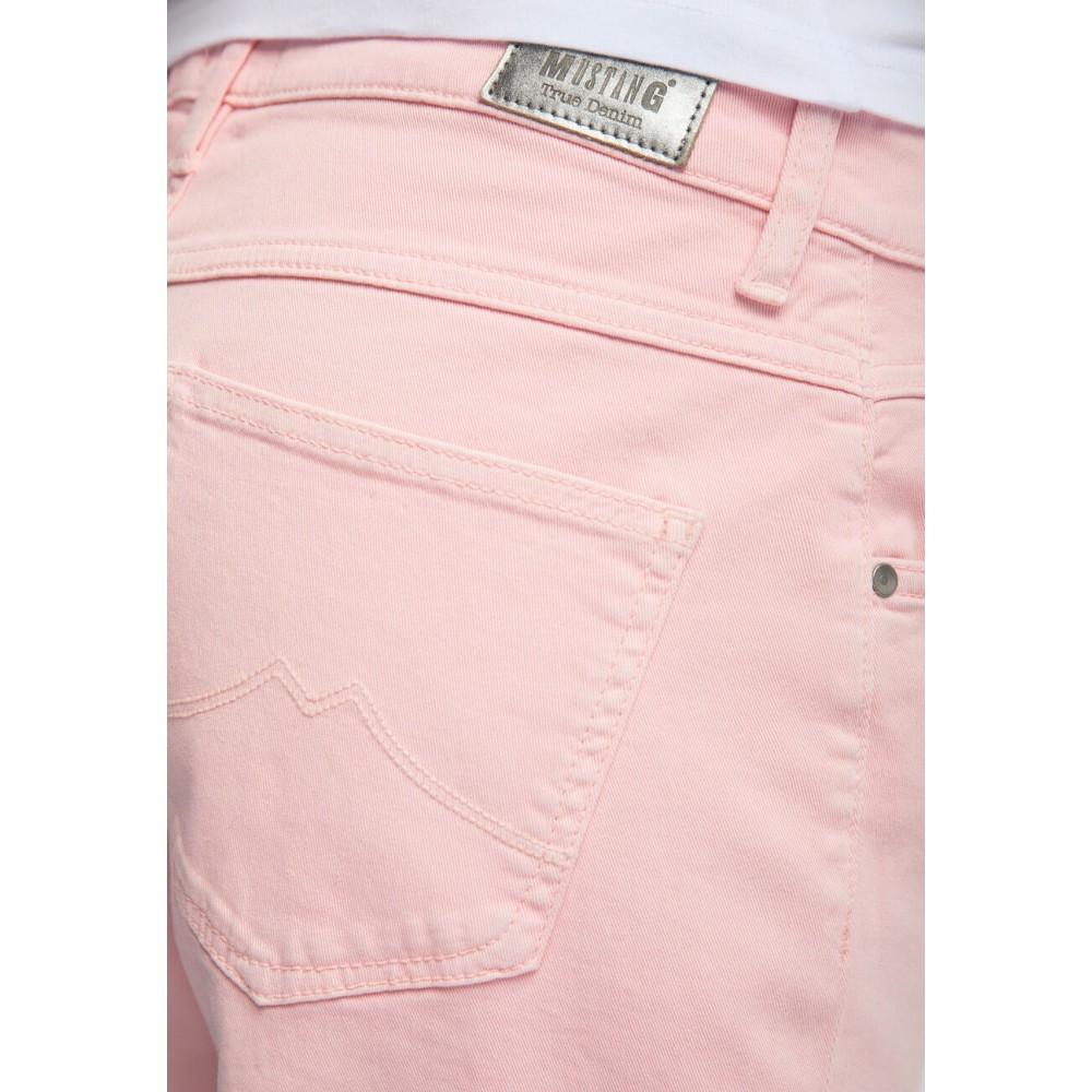 Mustang dámské kraťasy Bermuda Regular Fit Pink