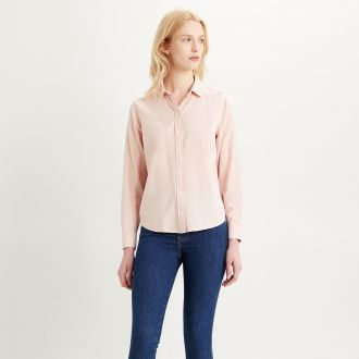 the classic bw shirt - sepia rose