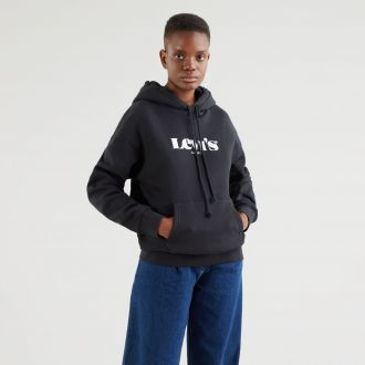 graphic standard hoodie - hoodie new logo ii caviar