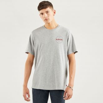ss relaxed fit tee - mv circle logo mhg